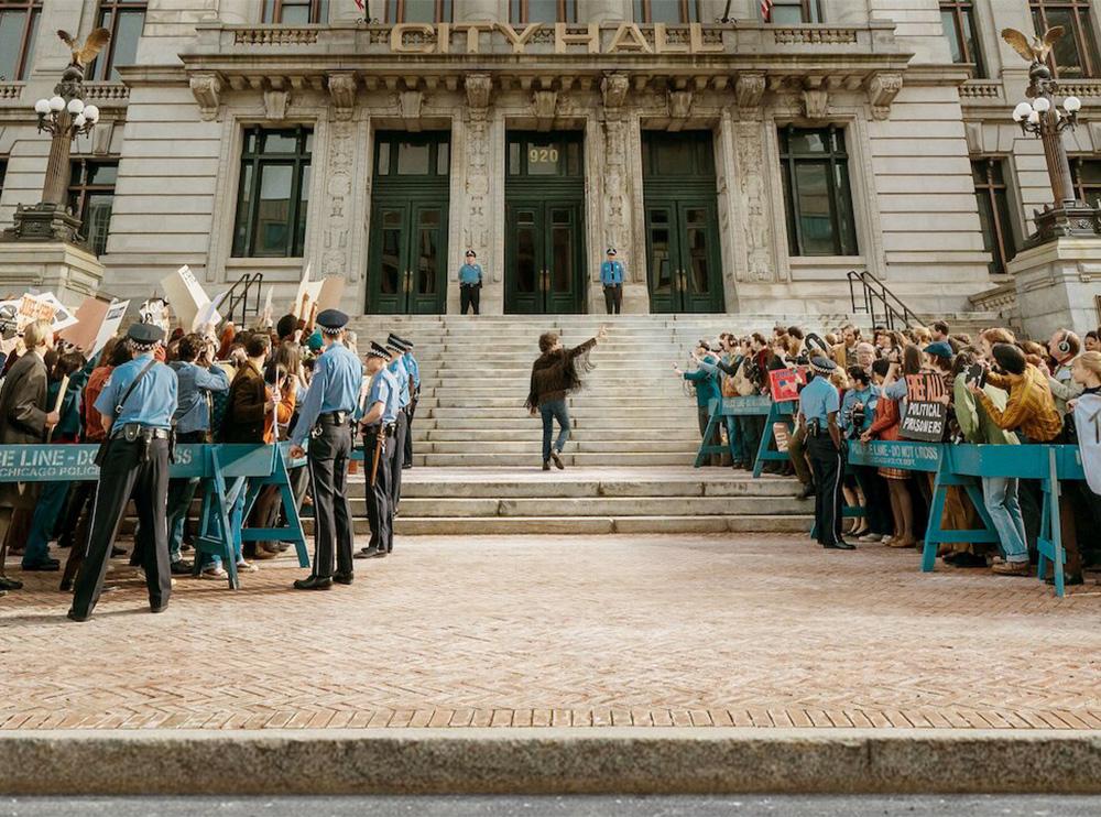 نقد و بررسی فیلم The Trial of the Chicago7