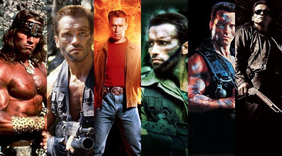 بهترین فیلم های آرنولد شوارتزنگر، منتخب بینندگان
